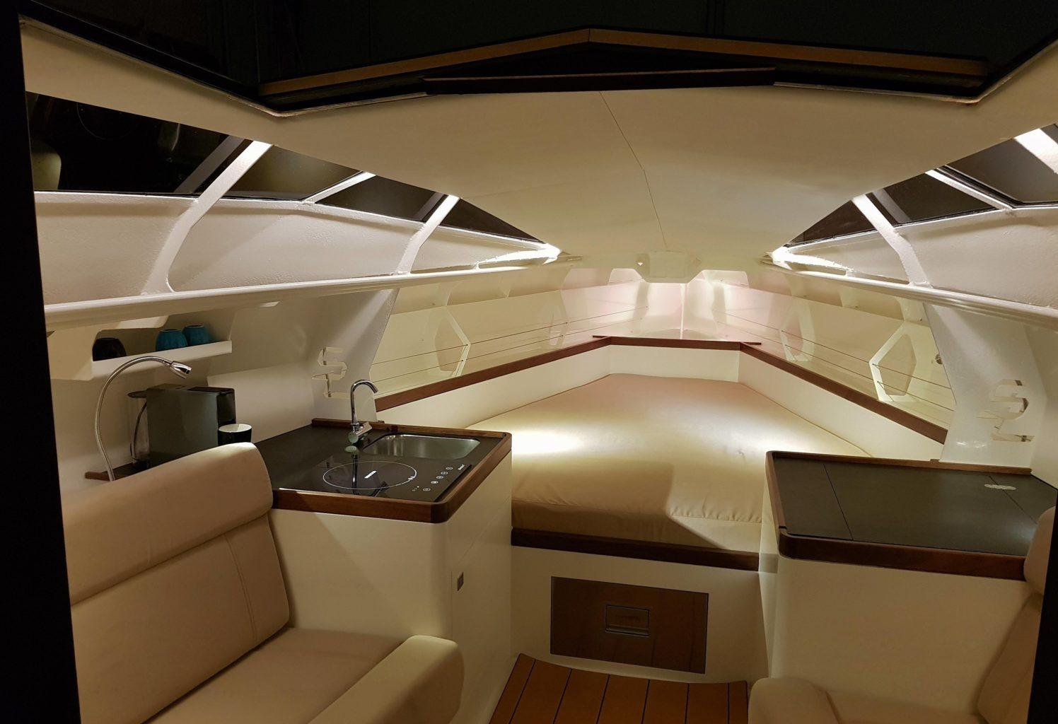 Speedlounger interior